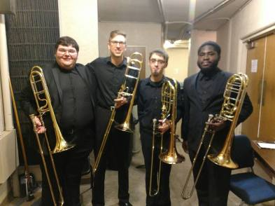 After our performance at the 2018 Big 12 Trombone Conference